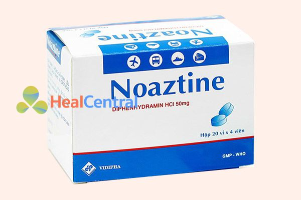 Thuốc chống say xe Noaztine