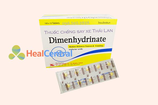 Thuốc Dimenhydrinate