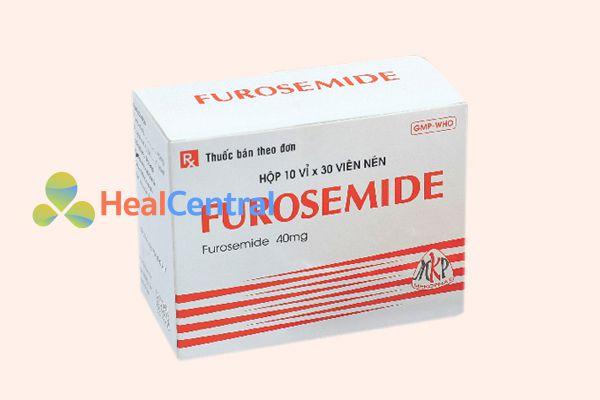 Thuốc lợi tiểu Furosemid 40mg
