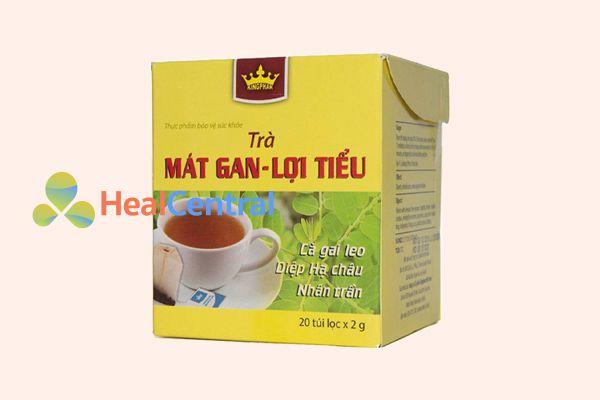 Trà thảo dược Mát Gan Lợi Tiểu Kingphar