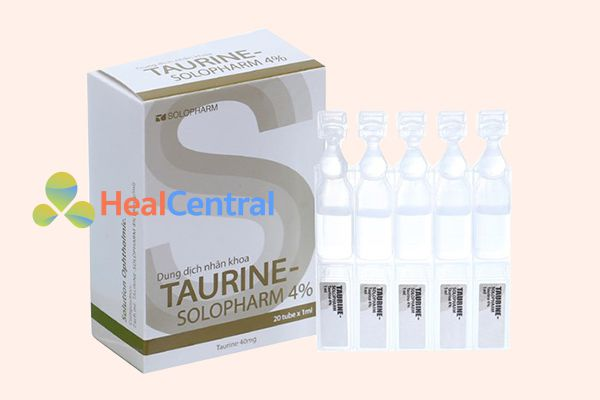 Hình ảnh: Thuốc nhỏ mắt điều trị loạn Taurine