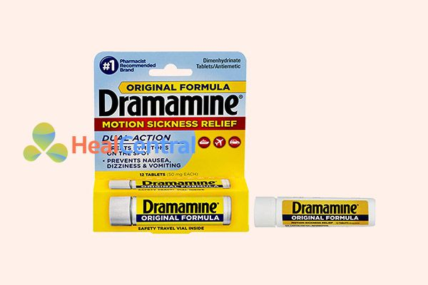 Thuốc say xe Dramamine
