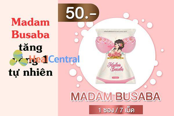 Thuốc tăng kích thước vòng 1 Madam Busaba