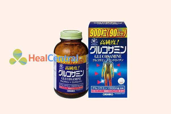 Thuốc trị thoái hóa đốt sống cổ Glucosamine Orihiro của Nhật