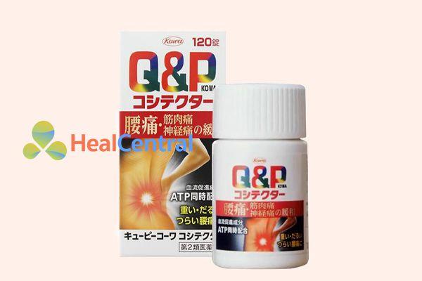 Thuốc trị thoái hóa đốt sống cổ Nhật Bản Q&P Kowa