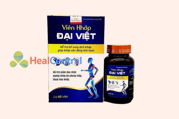 Thuốc trị thoái hóa đốt sống cổ Xương khớp Đại Việt