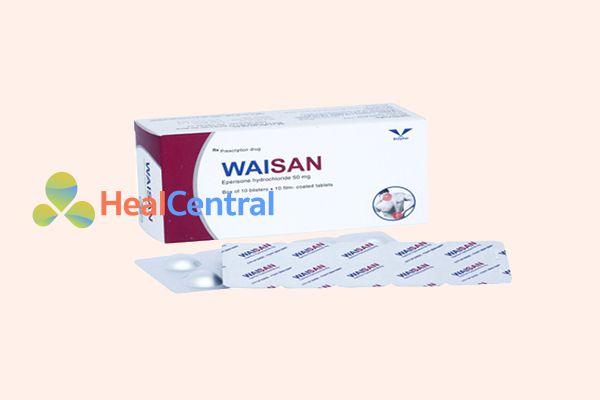 Thuốc Waisan giảm thiểu các triệu chứng co cứng cơ