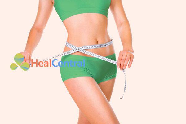 Trà Atiso giúp giảm cân