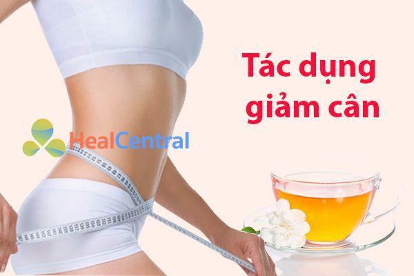Tác dụng giảm cân của trà hoa nhài