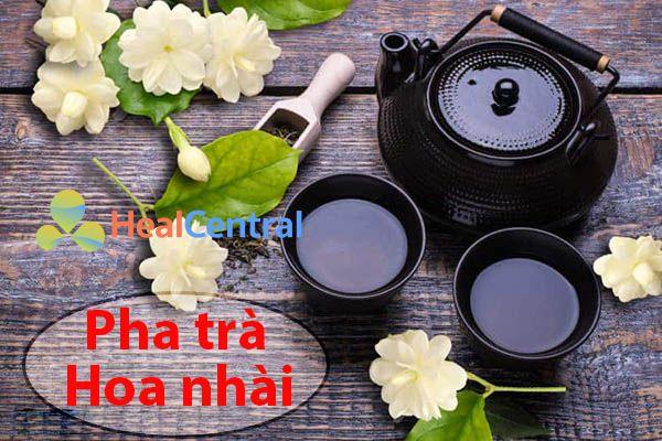 Lưu ý khi pha trà hoa nhài