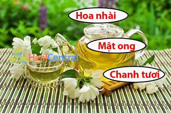 Trà chanh mật ong hương hoa nhài