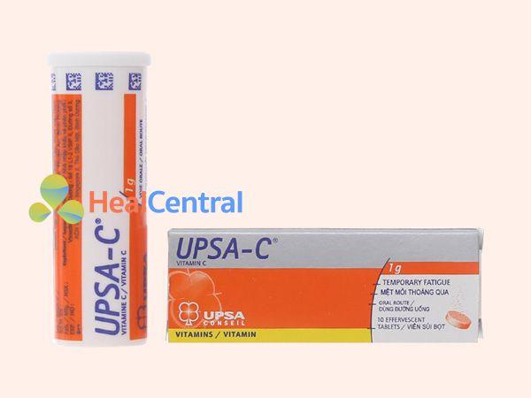 Viên sủi Upsa-C - bổ sung vitamin C cho cơ thể