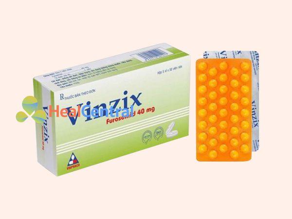 Thuốc Vinzix - điều trị chứng cao huyết áp