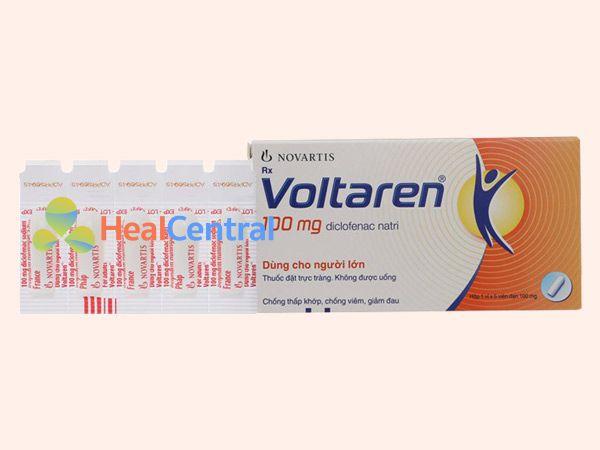 Hình ảnh thuốc Voltaren dạng viên đặt