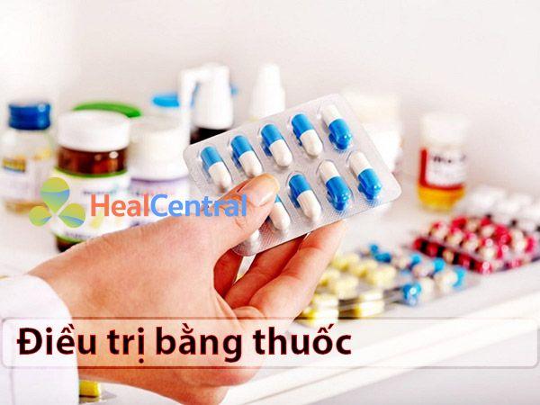 Sử dụng thuốc điều trị xuất huyết dạ dày