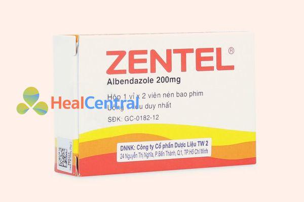 Thuốc Zentel 200mg