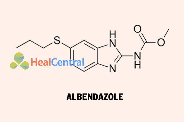 Cấu trúc hóa học của Albendazol