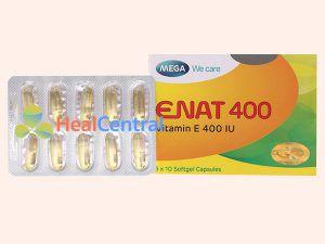 Sản phẩm Enat 400 ở dạng viên nang mềm