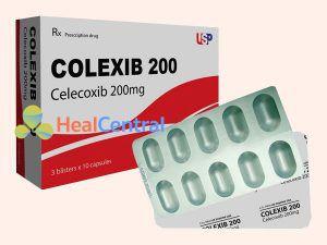 Thuốc Colexib có chứa thành phần Celecoxib