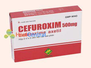 Thuốc Cefuroxim Vidipha kháng sinh điều trị nhiễm khuẩn