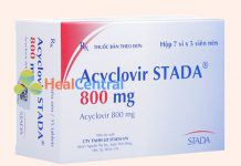 Thuốc Acyclovir Stada
