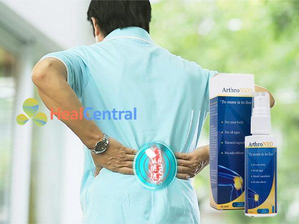 Chai xịt ArthroNEO giúp giảm đau xương khớp hiệu quả