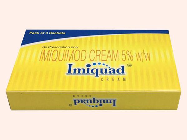 Hình ảnh thuốc Imiquimod Cream 5% mặt trước
