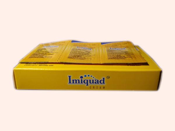 Thuốc Imiquimod Cream 5% được bán ở nhiều nơi