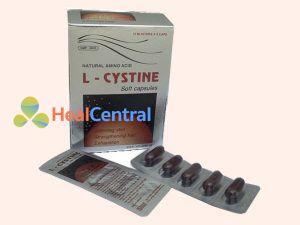 Thuốc L-cystine được bào chế dạng viên nang mềm