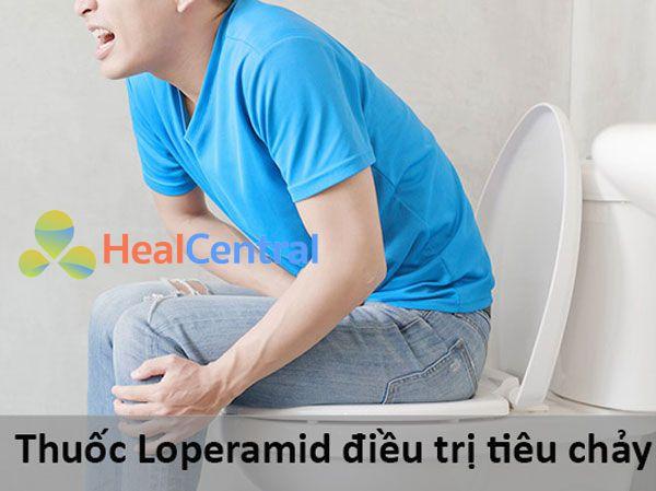 Thuốc Loperamid điều trị tiêu chảy
