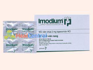 Thuốc Imodium chứa thành phần Loperamid
