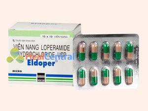 Viên nang Loperamide điều trị bệnh tiêu chảy