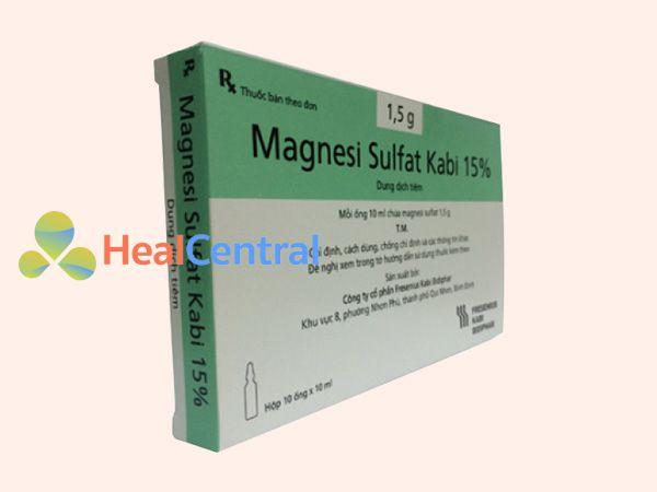 Hình ảnh thuốc tiêm Magnesi sulfat
