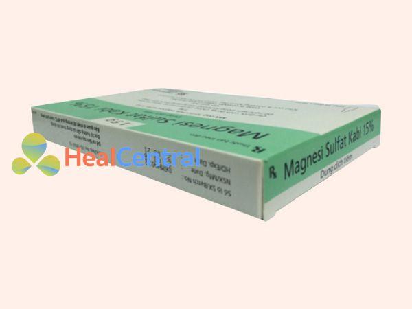 Magnesi sulfat dạng tiêm truyền
