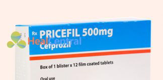 Thuốc Pricefil là một kháng sinh thế hệ 2