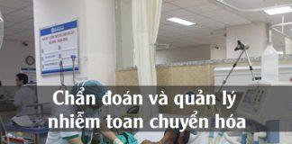 Chẩn đoán và quản lý nhiễm toan chuyển hóa