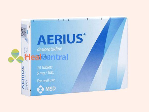 Thuốc Aerius dạng viên nén