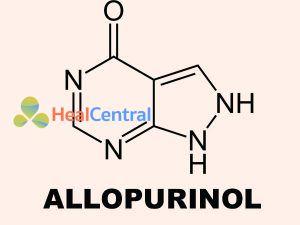 Công thức hóa học của Allopurinol