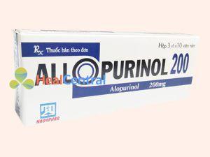 Thuốc Allopurinol 200mg