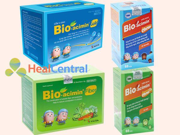 Bioacimin sản phẩm chăm sóc sức khỏe cho bé tốt nhất