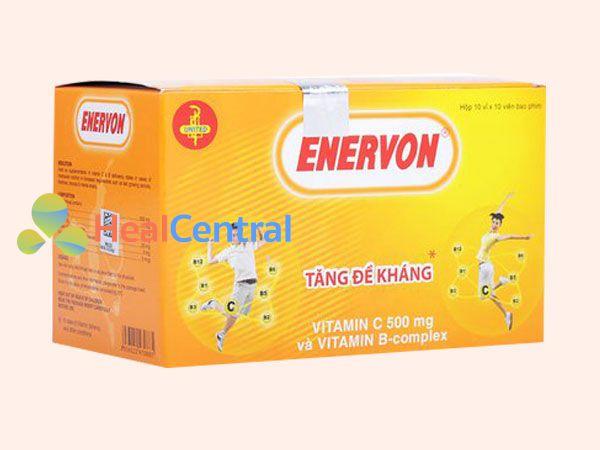 Thuốc Evernon bổ sung lượng vitamin B và vitamin C còn thiếu trong cơ thể