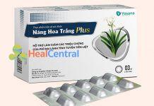 Náng Hoa Trắng Plus hỗ trợ điều trị bệnh lý tuyến tiền liệt