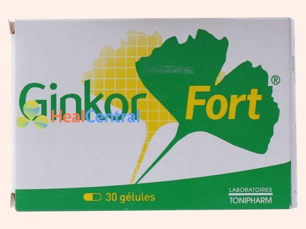 Hình ảnh thuốc Ginkor Fort mặt trước