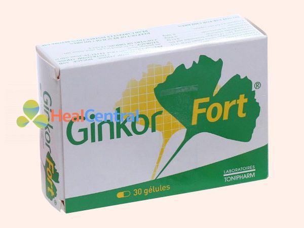 Hình ảnh thuốc Ginkor Fort trị tiêu chảy hiệu quả