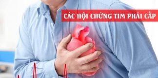 Các hội chứng tim phải cấp ở bệnh nhân hồi sức