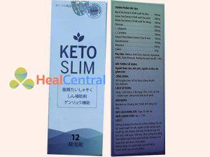 Thông tin cơ bản về sản phẩm Keto Slim