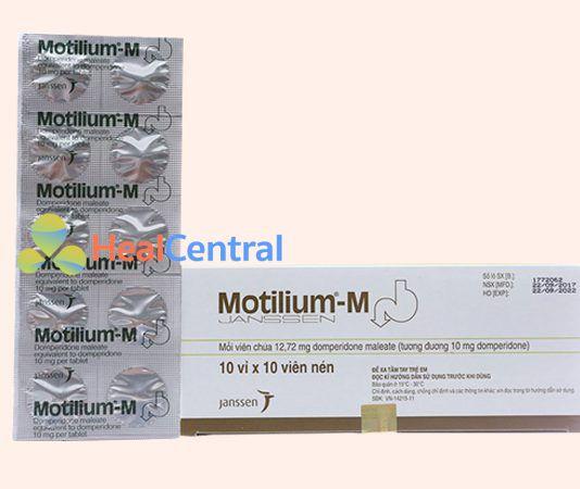 Hình ảnh: Thuốc Motilium-M 500mg của hãng Janssen