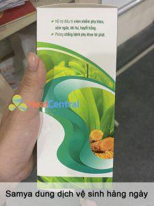 Samya Dung dịch vệ sinh hàng ngày