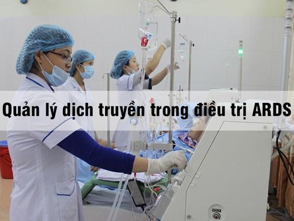 Quản lý dịch truyền trong điều trị ARDS