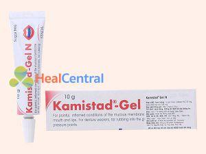 Thuốc Kamistad Gel N điều trị nhiệt miệng